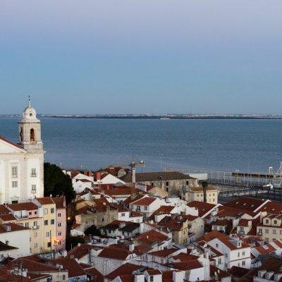 Miraduro de Santa Luzia, Alfama, Lisboa