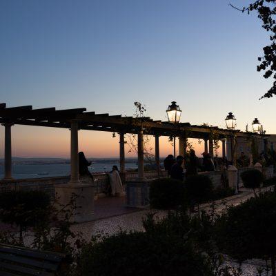 Belvedere in Alfama, Lisboa